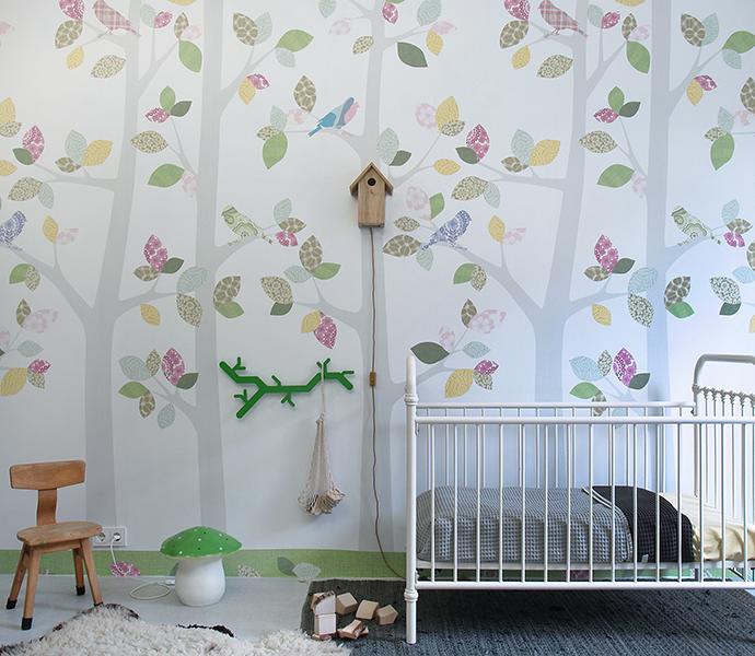 Inke Behang Winkel Behang Xl Bos Inke Behangwinkel Retro Behang Babykamer Kinderkamer Retro