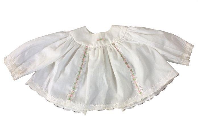 Babykleding Jurkje.Jurkje Baby Maat 50 Wit Retro Baby Shop