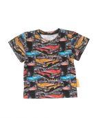 T-shirt Amerikaanse auto korte mouw maat 74 t/m maat 92