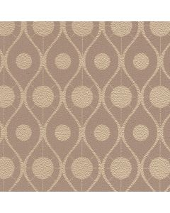 Behang retro gebroken wit, beige of bruin