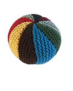 Speelbal baby gebreid verschillende kleuren