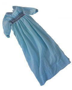 Doopjurk baby smockwerk licht-blauw