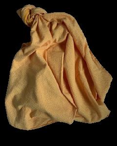 Hydrofiele doek XL geel met driehoekjes