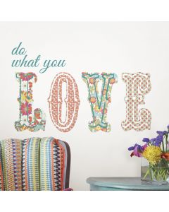 Muursticker babykamer Do what you LOVE