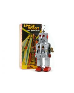 Blikken space robot retro