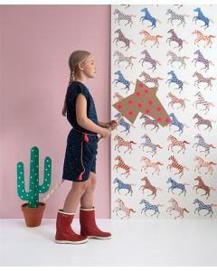 Behang met paarden