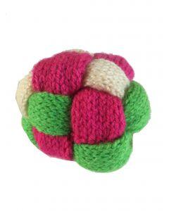 Speelbal roze groen