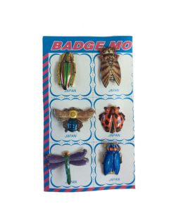 Speld insecten vintage look