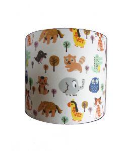 wandlampje met dieren